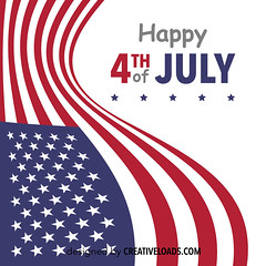 Happy 4th of July (creativeloads.com) Tags: old blue red usa holiday sign america vintage poster stars happy freedom design memorial day symbol background stripes flag united banner 4th july patriotic celebration card american states independence fourth greeting vector