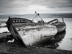 High and Dry (Damon Finlay) Tags: boats islands scotland highlands nikon scottish d750 isleofmull tamron mull isle f28 scottishhighlands boatwreck 2470 highlandsandislands tamron2470f28 nikond750