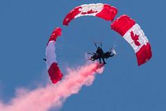 Quinte International Air Show 2016 (Rick 2025) Tags: rocketman airshow caf trenton 2016 parachuteteam skyhawks quinteinternationalairshow