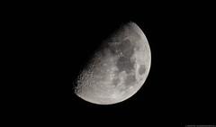The Moon through USSR lens (Dimitri Goderdzishvili) Tags: nikon d610 moon halfmoon dark side astro astrophotography geoastro black white sky half mto 1000a mto1000a 1100mm f10 5 adobe lightroom photoshop earth astrometrydotnet:id=nova1605964 astrometrydotnet:status=failed