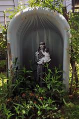 Bathtub Saint (Violentz) Tags: shrine religion religiousshrine bathtubsaint stanthony jesus babyjesus patricklentzphotography