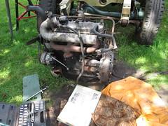 IMG_0442 Land Rover 2.25 Diesel Engine (robsue888) Tags: landrover merseyside series3 225diesel