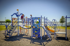 Greenwell Point Playground (Visit Shoalhaven) Tags: family beach water playground river relax point fun climb coast quiet play south swing equipment shoalhaven unspoilt greenwell