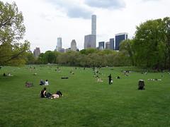 201605230 New York City Central Park and Midtown (taigatrommelchen) Tags: park city nyc newyorkcity sky urban usa ny newyork skyline centralpark manhattan icon midtown uppereastside 20160518
