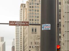 0410 Jack Brickhouse Way (TWITA2005) Tags: chicago us illinois sticker unitedstates hillary rahm