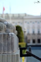 Un petit coin du palais (fred88r) Tags: old city monument statue stone pierre palace presidential historic histoire palais paysage ville ancien historique exterieur prsident prsidentiel