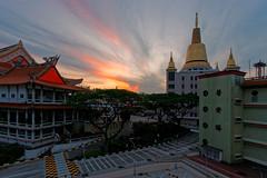 DSC04610_DxO (teckhengwang) Tags: sunrise landscape singapore angle wide ultra a850 sal20f28