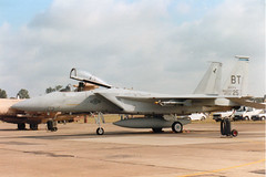 79-0025 BT F-15C USAF 36th TFW 525th TFS RAF Lakenheath 24Aug91 (kerrydavidtaylor) Tags: usairforce f15 unitedstatesairforce egul mcdonnelldouglaseagle