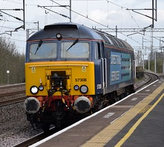 57308 (Lucas31 Transport Photography) Tags: railway trains tamworth drs class57 57308 0z57