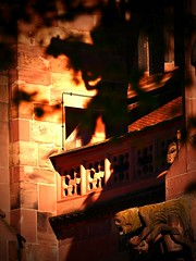 The light shines in the darkness, but the darkness has not understood it.John 1 (bernawy hugues kossi huo) Tags: shadow germany death darkness cathedral head gargoyle underworld freiburg crush corruption flyingbuttress langage