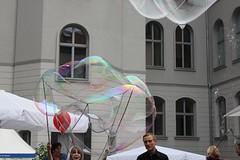Seifenblasenfabrik Bubblebo Seifenblasenshow beim Tag der offenen Tür im Bundesministerium für Landwirtschaft 16