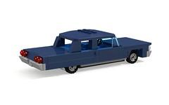 1964 Chevrolet Bel Air 2-Door Sedan (MOCs & Stuff) Tags: city chevrolet sport sedan lego air convertible super impala bel coupe 1964 biscayne er0l