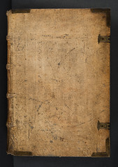 Binding of  Euclides: Elementa geometriae (University of Glasgow Library) Tags: binding euclides elementa geometriae bd9c5