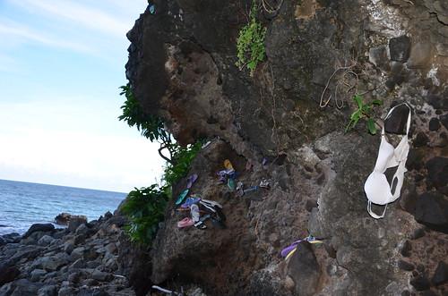 Treibgut-Felsen, Mangsit Beach, Lombok