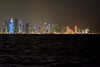 Doha Skyline (micheltheriault) Tags: tower water skyline waves skyscrapers doha quatar