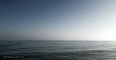 Fading light (rhfo2o - rick hathaway photography) Tags: sunset sea sky beach seaside waves westsussex seamist iphone rustington iphone4s rhfo2o