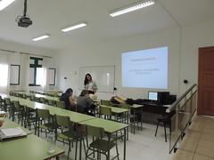 Charla sobre 1 auxilios y RCP (Escuela Universitaria de Turismo de Lanzarote-EUTL) Tags: charla emergencia davinia rcp enfermera primerosauxilios