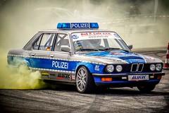 Police Drifting ;) (Da_Hmc) Tags: show yellow sony police rubber jpg alpha bodensee polizei burned ilc 6000 falken drift tuningworld worldcars a6000 sel55210