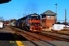 Ayer, MA (Littlerailroader) Tags: train massachusetts newengland trains transportation locomotive trainspotting locomotives ayer newenglandrailroads massachusettsrailroads
