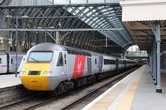 43299 at Kings Cross, 4.5.2015 (Woodvale) Tags: train railway virgin kingscross hst 43299