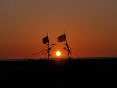 Pirate ship sunset (Scouse Smurf) Tags: sunset sky sun art ship pirate gracedarling hoylake