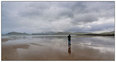Niall Beal Ban (Tony Kav) Tags: ocean sea beach clouds sand dingle tony atlantic ban peninsula beal kavanagh