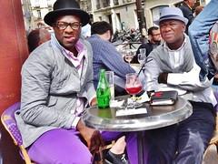 2015-05-25   Paris - Café Mabillon (P.K. - Paris) Tags: street people paris café french terrace candid may terrasse sidewalk mai 2015