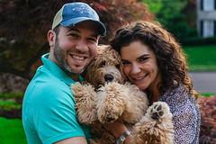 IMG_2074 (masemase) Tags: family dog puppy pennsylvania swiss may luna ridge doodle labradoodle newhope mothersday yardley swissridge