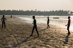 Before Sunset-DSC_2689-2 (thomschphotography3) Tags: sunset men beach reflections football shadows burma streetphotography myanmar birma youngmen
