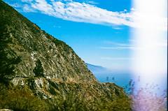 45430009 (danimyths) Tags: ocean california mountains film beach nature water landscape coast waterfront pacific roadtrip pch pacificocean westcoast pacificcoastalhighway filmphotography
