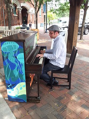 World Champion RagTime Pianist Ethan Uslan (SopacCommunity) Tags: music art community piano southorange sopac