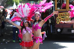 SF Carnaval 2016 (DanceAndRun) Tags: sf carnival pink hope san francisco breast cancer parade carnaval performer cure manal 2016