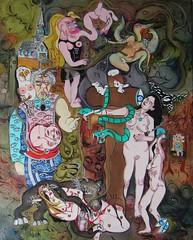 LA FORCE (Claude Bolduc) Tags: outsiderart surrealism tarot lowbrow visionaryart artsingulier intuitiveart