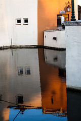 Mondrian (nicouze) Tags: sea mer france reflection water colors port eau couleurs reflet grimaud mondrian forme formes gomtrique nicouze