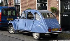 Citron 2CV 1986 (XBXG) Tags: auto old france holland classic netherlands car club vintage french automobile nederland citron voiture 2cv frankrijk 1986 paysbas eend geit ancienne spaarndam 2pk 2cv6 citron2cv franaise deuche deudeuche ijdijk 07pgtk