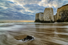 Botany Bay Morning Tide (Child of Rarn) Tags: longexposure reflection water sunrise landscape coast countryside seaside botanybay d7000 tokina111628 hoyand32