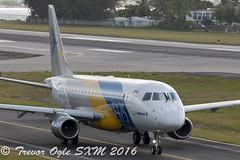 DSC_7941Pwm (T.O. Images) Tags: st airport princess juliana maarten sxm embraer e175 ppxjd