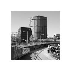 Der Gasometer (Michel le Blanc) Tags: htte reportage saarland weltkulturerbe gasometer vlklingen industriekultur vlklinger industriedenkmal eisenwerk eisenhtte