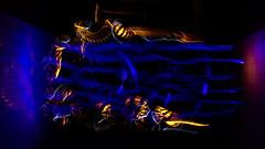 Freestyle #3 (Sven Grard (lichtkunstfoto.de)) Tags: blue lightpainting lichtmalerei lightart lichtkunst