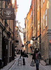 Old Town lane (bokage) Tags: sweden stockholm lane gamlastan oldtown bokage