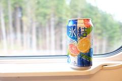 DSCF1458 (chinnian) Tags: japan aomori  fujifilm kirin   shinkansen x70 e5  chuhi tohokushinkansen fujifilmx70 hokkaidoshinkansen