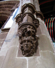 Green man at Leicester Cathedral