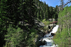 Eagle Falls (J-Fish) Tags: california waterfall sierranevada desolationwilderness uppereaglefalls d300s 1685mmf3556gvr 1685mmvr