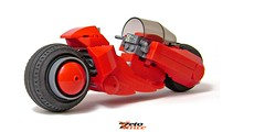 Akira Bike (ZetoVince) Tags: anime bike greek lego vince motorcycle akira kaneda zeto zetovince