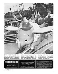 Vacationland Fall 1965 03 - Dumbo the Flying Elephant (Tom Simpson) Tags: vintage disneyland dumbo disney 1960s vacationland 1965 dumbotheflyingelephant vintagedisneyland vintagedisney