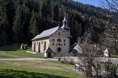 Chapelle savoyarde (Chemose) Tags: mountain church les montagne canon eos spring chapel 7d april baroque avril glise printemps chapelle hautesavoie contamines notredamedelagorge montjoie contaminesmontjoie