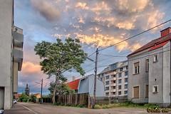 Cloudy day (A.B. Art) Tags: vienna wien postprocessed tree clouds buildings austria cityscape cloudy wolken brogebude baum hdr wolkig abart nachbearbeitet starburst911