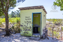 "A local toilet at a restaurant or ""warung"". (wrightontheroad) Tags: local turtleisland localrestaurant toilet warung serangan bali indonesia"
