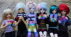 Feel the love (*PoisonApple*) Tags: minifee ryeon dollzone megi cloverdoll hugh resinsoul song dollmore momo seng