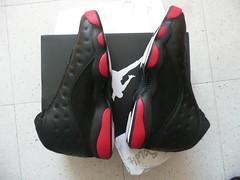 """NIKE AIR JORDAN 13 RETRO """"DIRTY BRED"""" Size 11 black/gym red-black 414571 003 (debrok) Tags: nike jordan airjordan jumpman michaeljordan nba"""